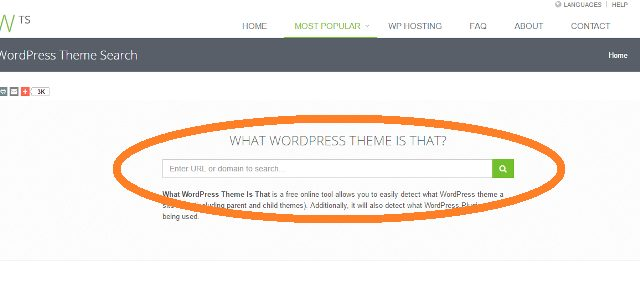 WHAT WORDPRESS THEME IS THAT?のトップページの写真