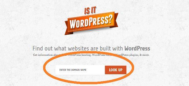 is it wordpressのホーム画面の写真