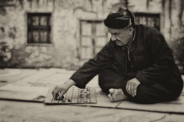 高齢の男性の写真
